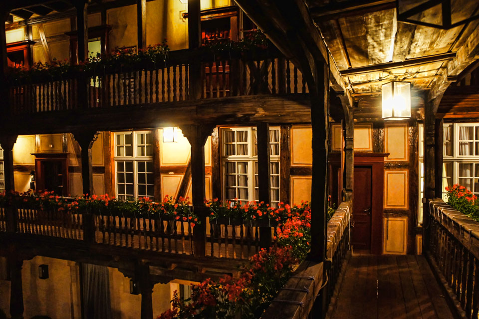 Down an alley to cour du corbeau travel photos foreign pixel - Hotel de luxe strasbourg ...