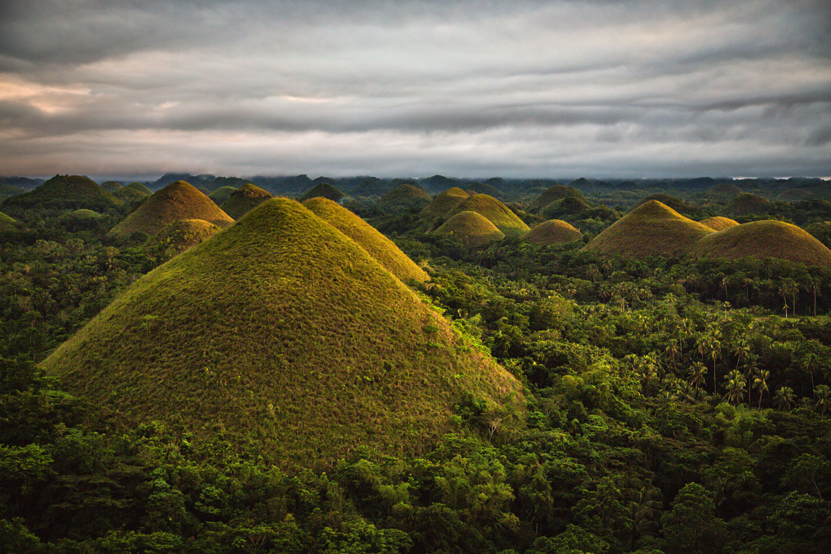 The Chocolate Hills Of Bohol Travel Photos Foreign Pixel