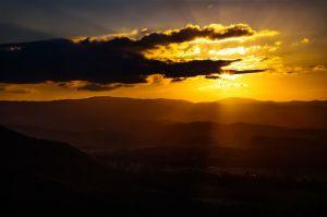 Sunset hills.